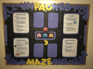 Pac Maze Bulletin Board